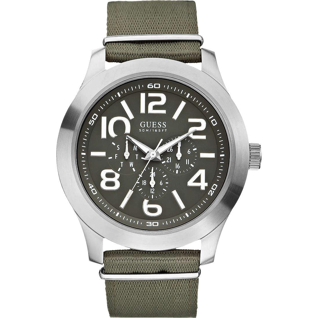 orologio multifunzione uomo Guess W10617G1