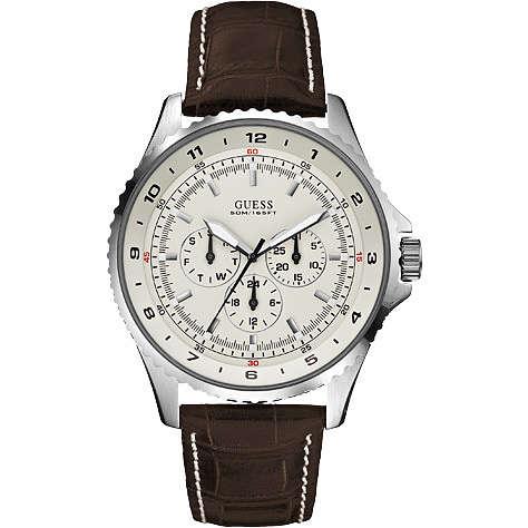 orologio multifunzione uomo Guess W11172G4