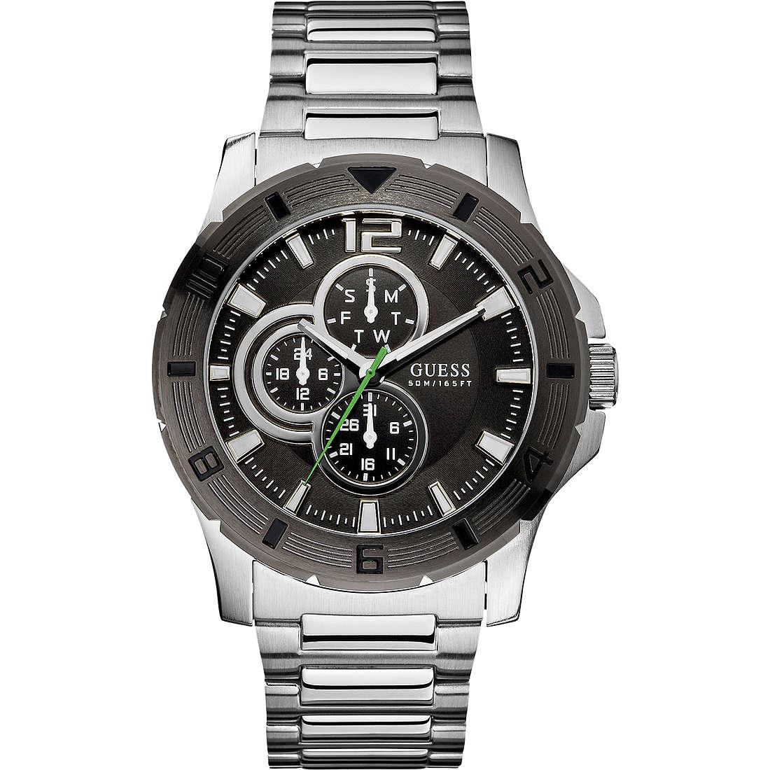 orologio multifunzione uomo Guess W11617G1