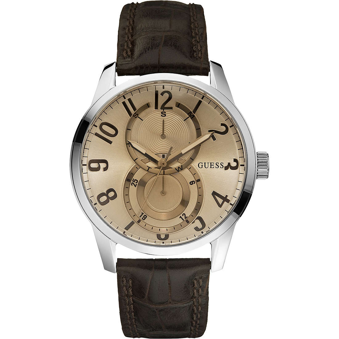 orologio multifunzione uomo Guess W95127G2