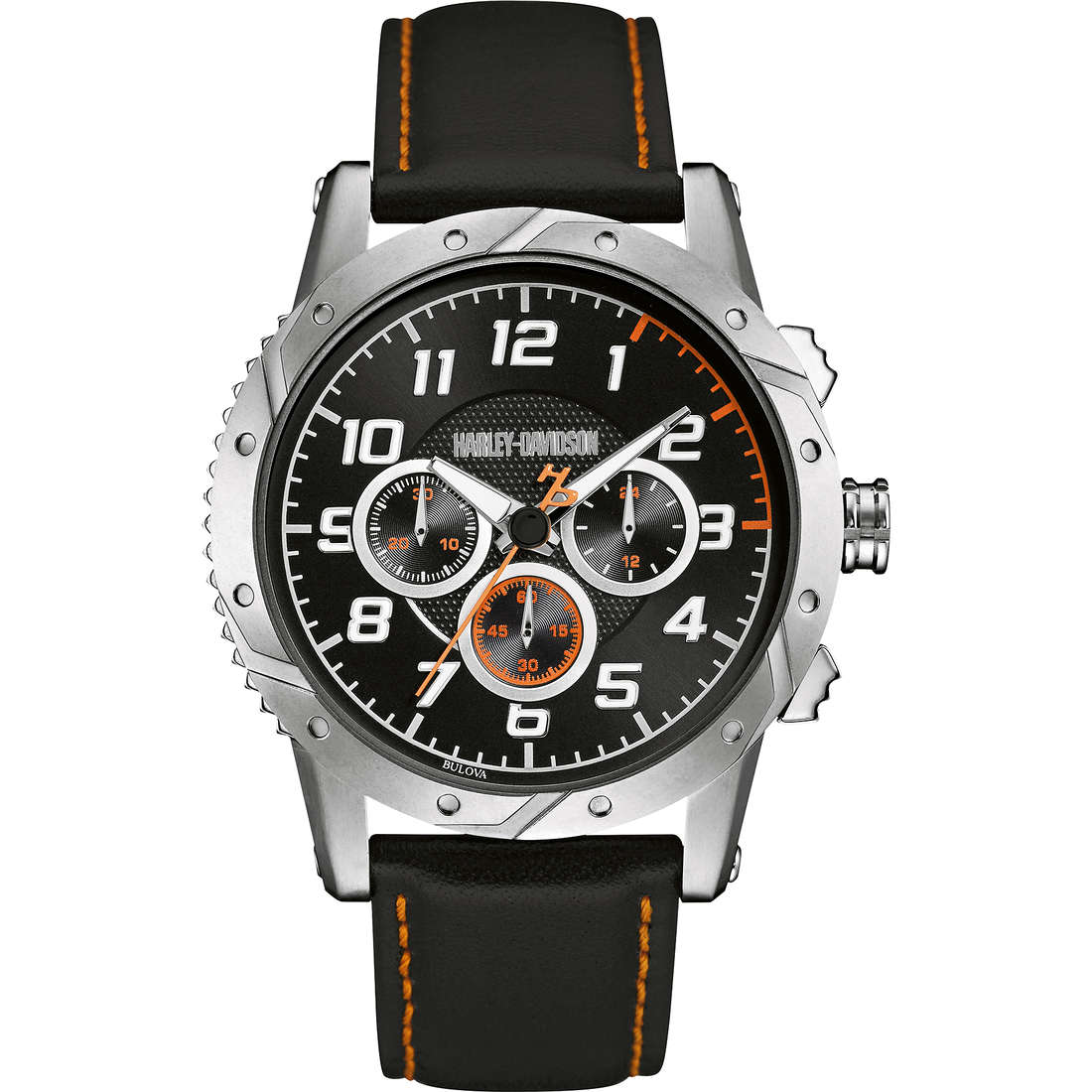orologio multifunzione uomo Harley Davidson 76B171