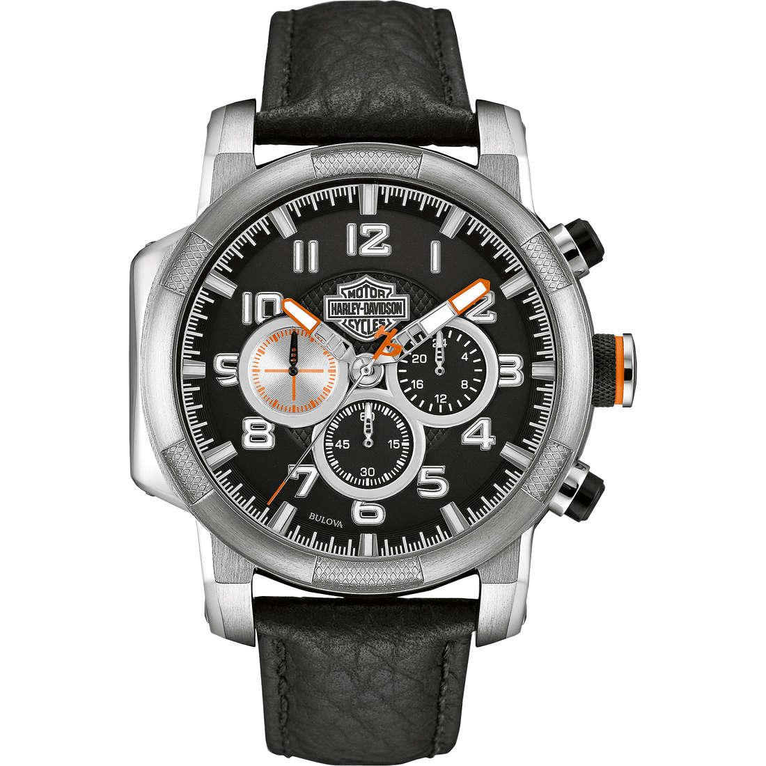 orologio multifunzione uomo Harley Davidson 76B172