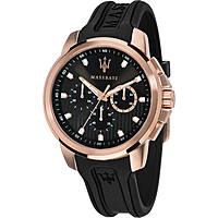 orologio multifunzione uomo Maserati Sfida R8851123008