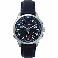 orologio multifunzione uomo Nautica Shanghai World Time NAPSHG001