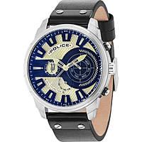 orologio multifunzione uomo Police Leicester R1451285001