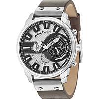 orologio multifunzione uomo Police Leicester R1451285002