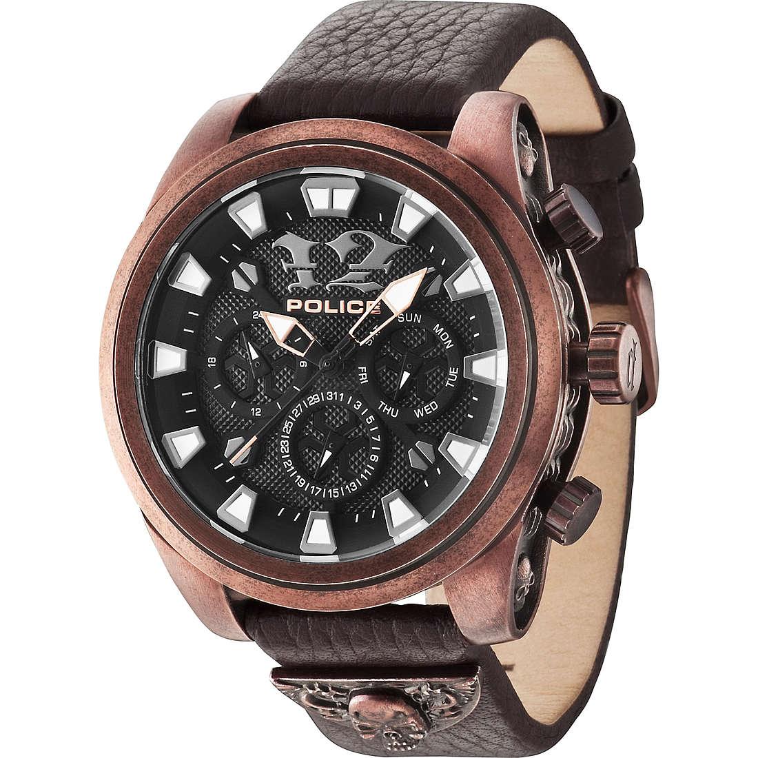 orologio multifunzione uomo Police Mephisto R1451250001