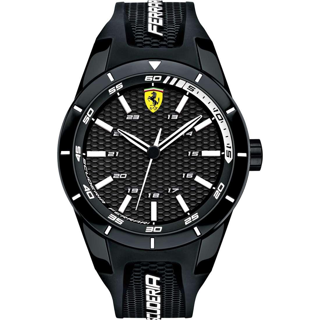 orologio multifunzione uomo Scuderia Ferrari Red FER0830249