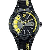 orologio multifunzione uomo Scuderia Ferrari Red FER0830266