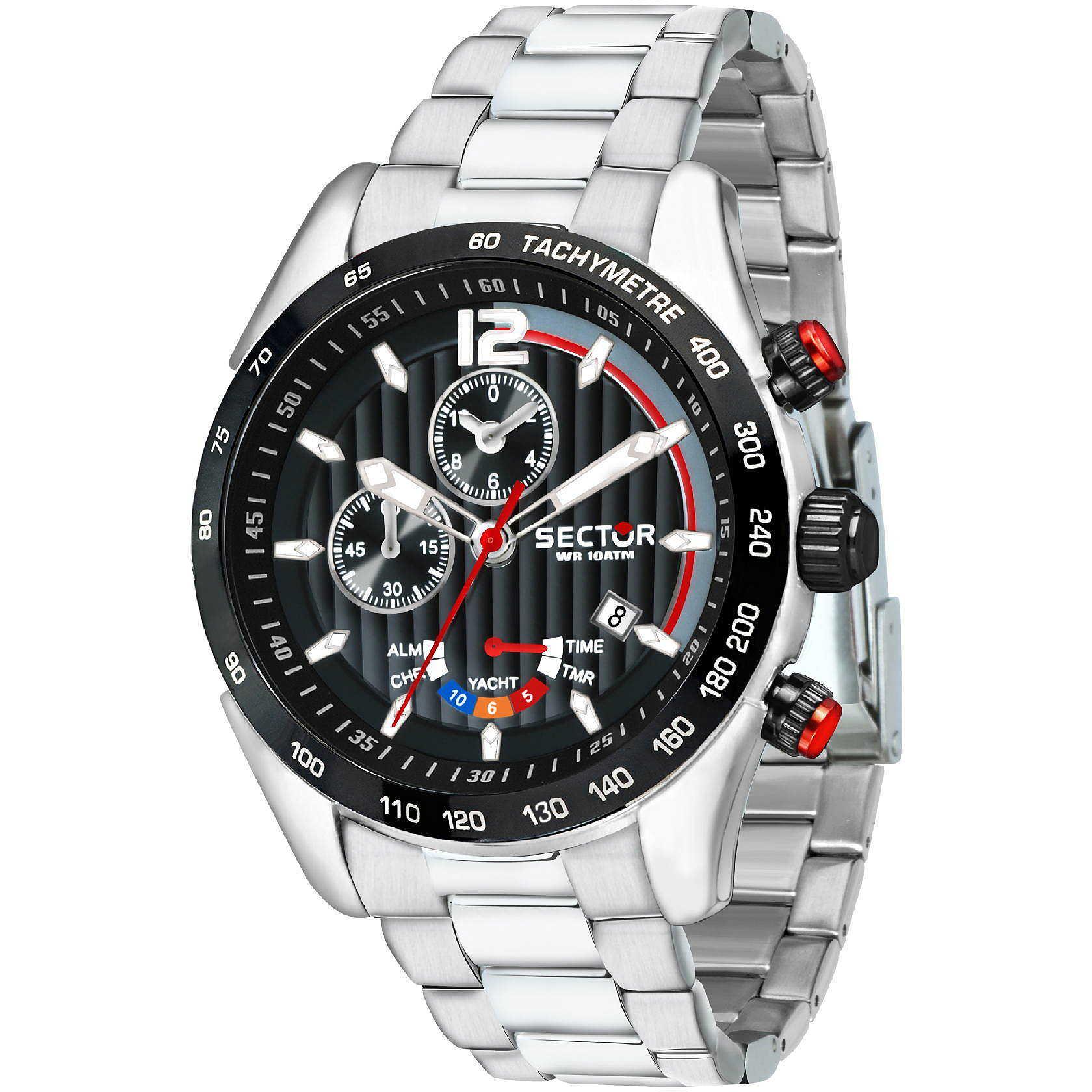 Orologio multifunzione uomo sector 330 r3273794009 for Pietro milano orologi