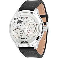 orologio multifunzione uomo Sector Traveller R3251504002