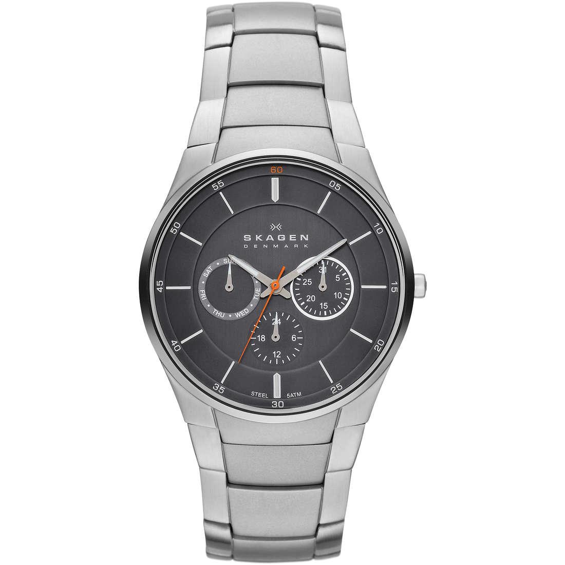 orologio multifunzione uomo Skagen Fall 2013 SKW6054