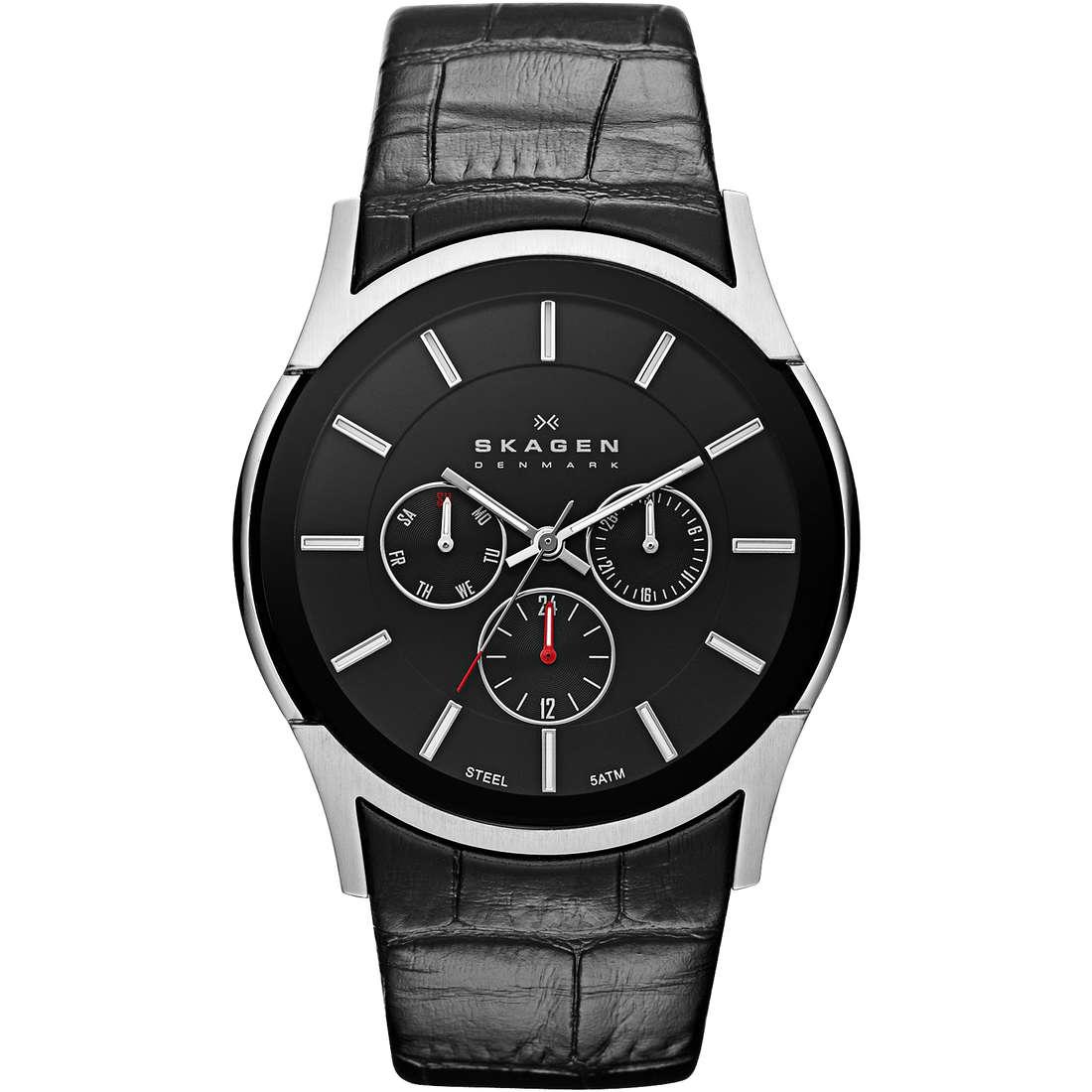 orologio multifunzione uomo Skagen SKW6000