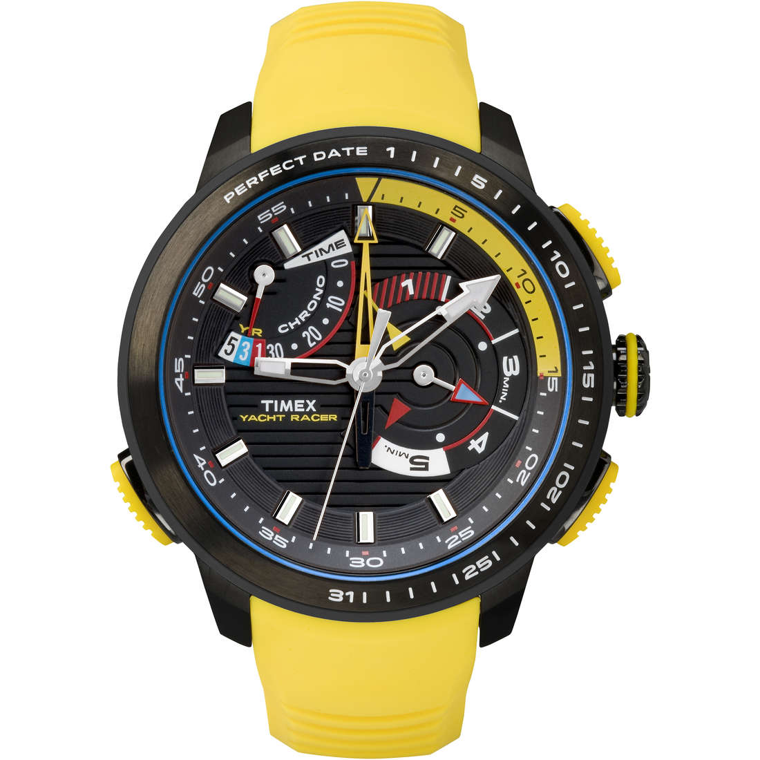 orologio multifunzione uomo Timex Iq Yatch Racer TW2P44500