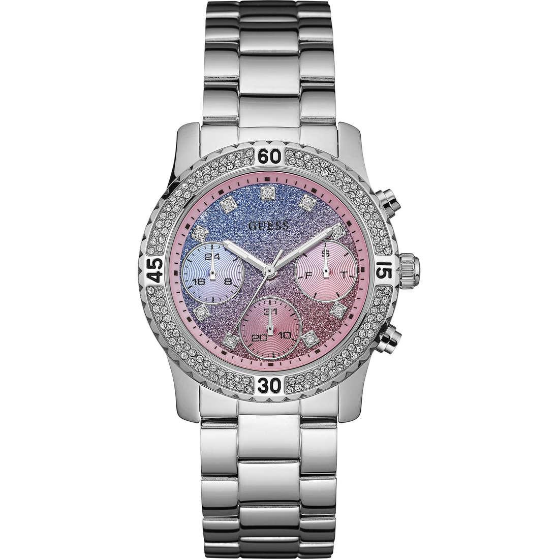 Orologio Multifunzione W0774L1 Di Guess Con Quadrante Glitterato Della Collezione Confetti W0774L1