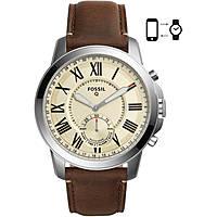 orologio Smartwatch uomo Fossil Q Grant 2.0 FTW1118
