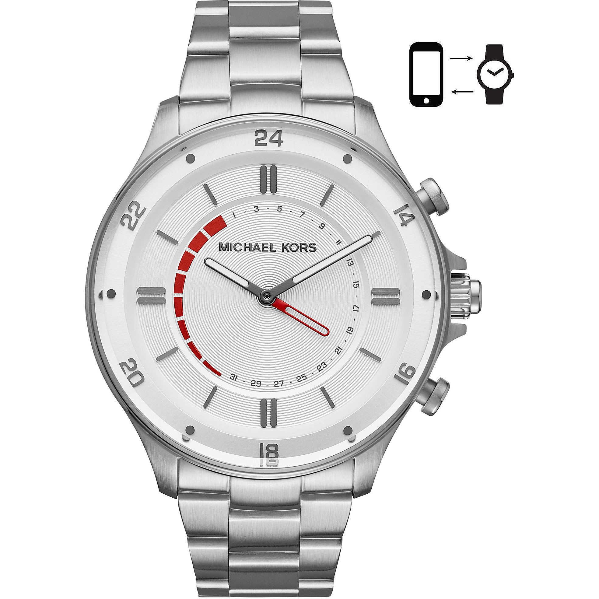 aa78e31a64976 orologio Smartwatch uomo Michael Kors Reid MKT4013 Smartwatches ...