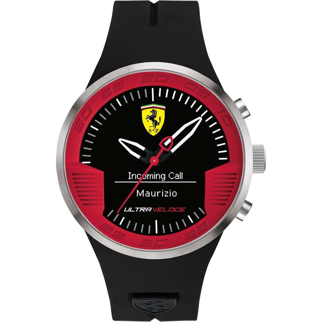 orologio Smartwatch uomo Scuderia Ferrari Ultraveloce FER0830373