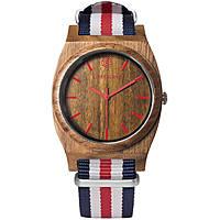 orologio solo tempo donna Ab Aeterno Horizon JR_C_BLU_RED_WH20