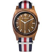 orologio solo tempo donna Ab Aeterno Horizon JW_C_BLU_RED_WH20