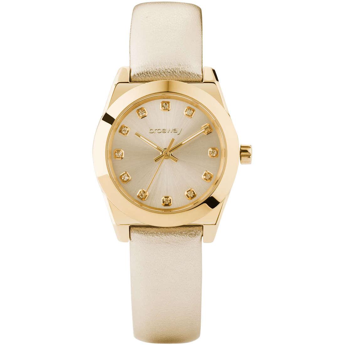 orologio solo tempo donna Brosway Deco WDC02