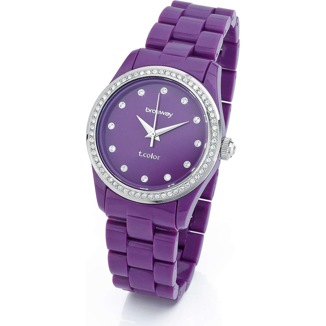 orologio solo tempo donna Brosway T-Color WTC06