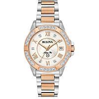 orologio solo tempo donna Bulova 98R234