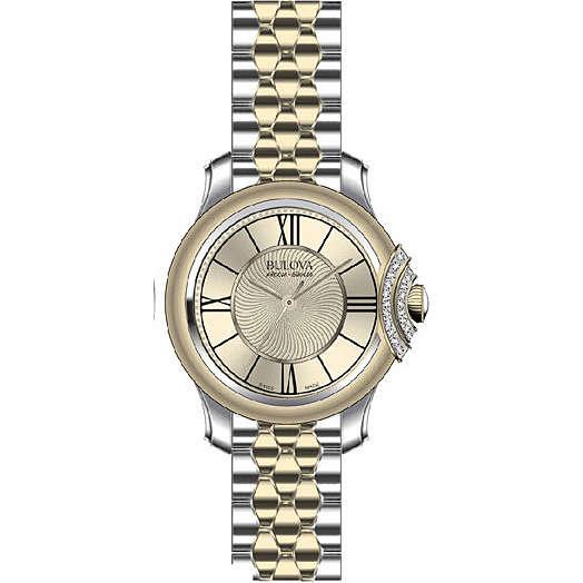 orologio solo tempo donna Bulova Accu Swiss Bellecombe 65R159
