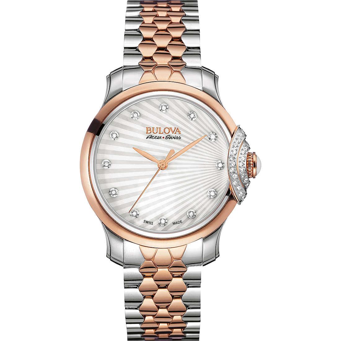 orologio solo tempo donna Bulova Accu Swiss Bellecombe 65R164