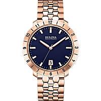 orologio solo tempo donna Bulova Accutron II Moonview 97B130