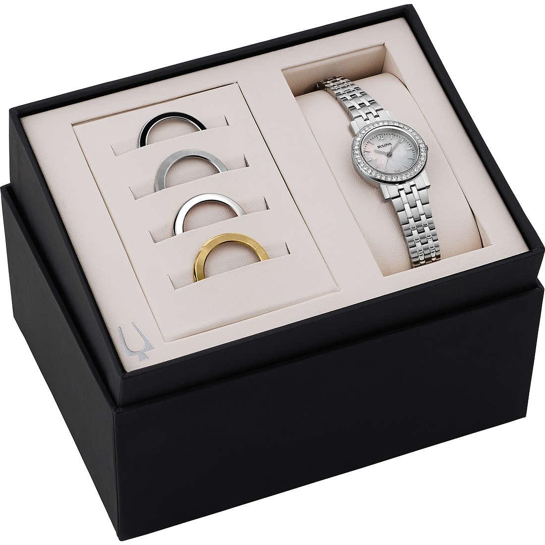 orologio solo tempo donna Bulova Box Set 98X111