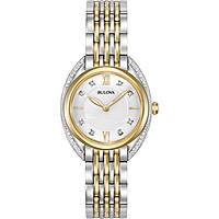orologio solo tempo donna Bulova Curv 98R229