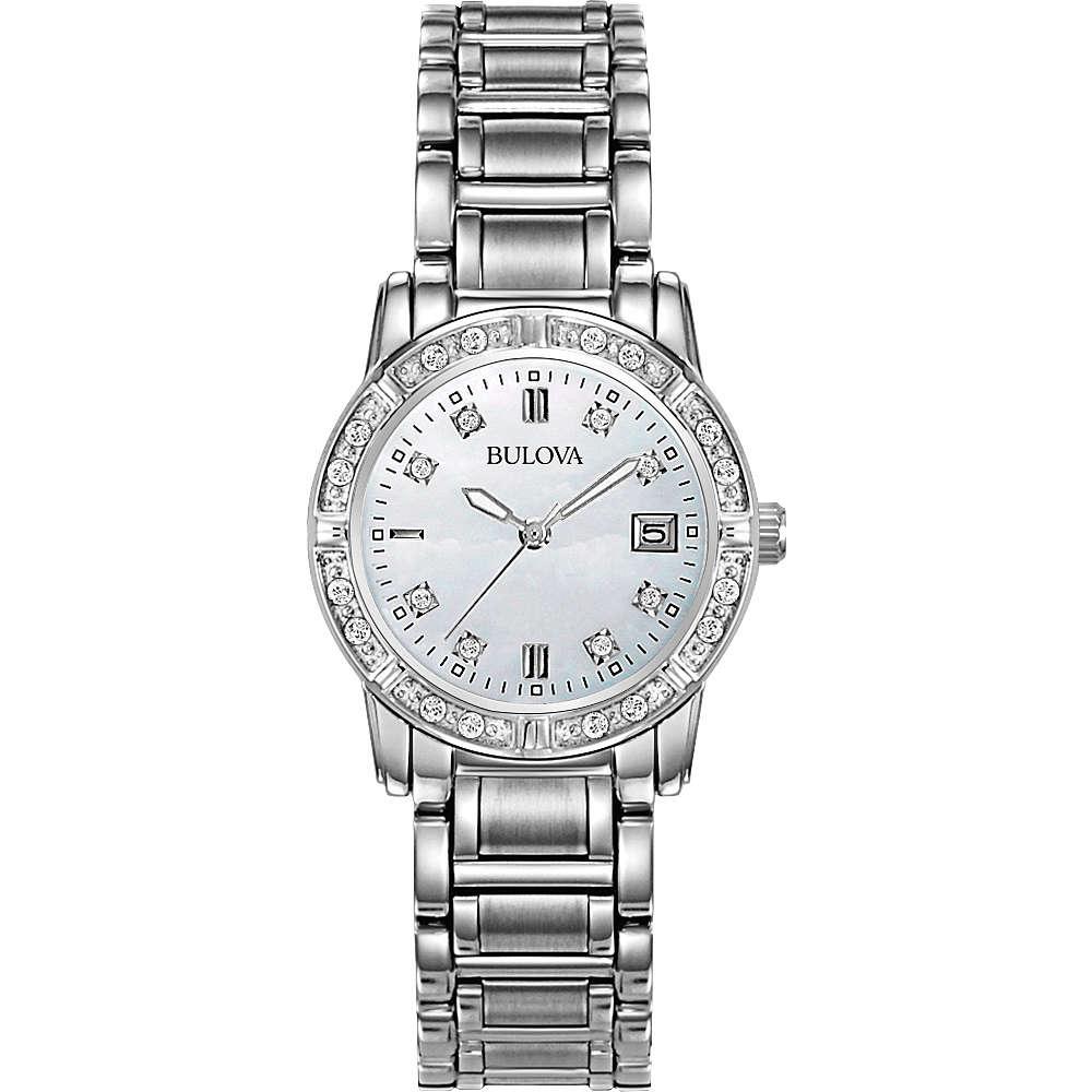 orologio solo tempo donna Bulova Diamanti 96R105