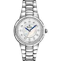 orologio solo tempo donna Bulova Diamanti 96R174