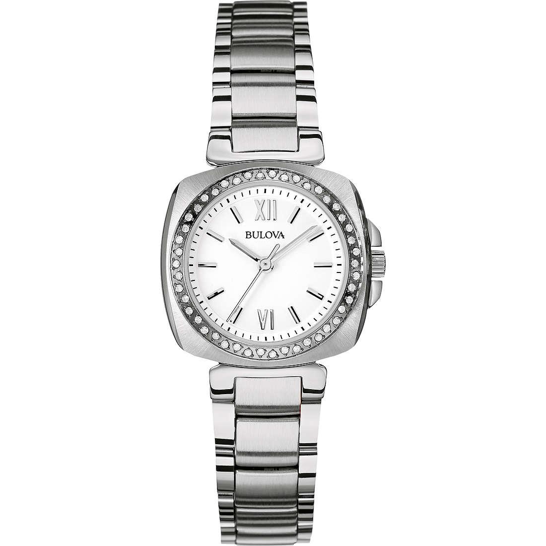 orologio solo tempo donna Bulova Diamanti 96R200