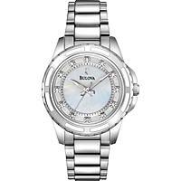 orologio solo tempo donna Bulova Diamanti 96S144
