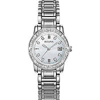 orologio solo tempo donna Bulova Diamanti 96W105