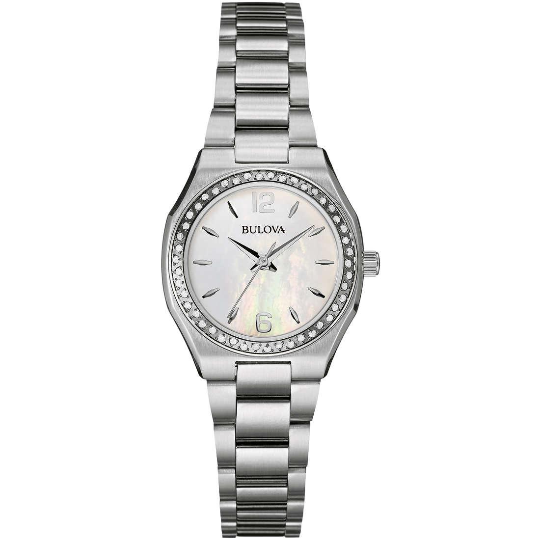 orologio solo tempo donna Bulova Diamanti 96W199