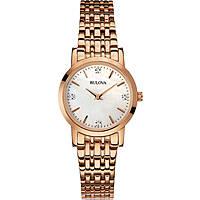 orologio solo tempo donna Bulova Diamanti 97P106