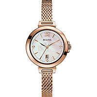 orologio solo tempo donna Bulova Diamanti 97P108