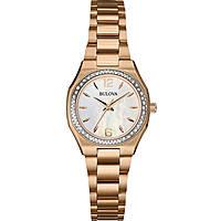 orologio solo tempo donna Bulova Diamanti 98R205