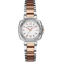 orologio solo tempo donna Bulova Diamanti 98R206