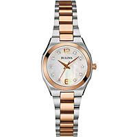 orologio solo tempo donna Bulova Diamanti 98S143