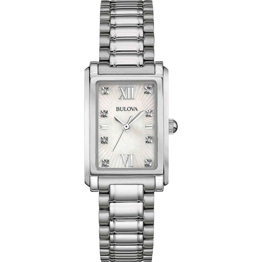 orologio solo tempo donna Bulova Diamond Gallery 96S157