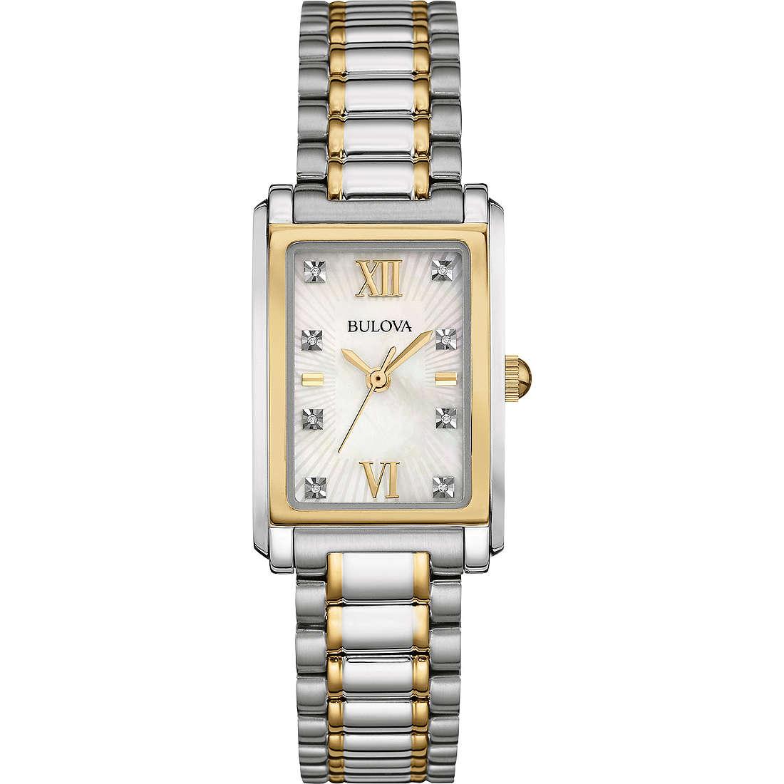 orologio solo tempo donna Bulova Diamond Gallery 98P144