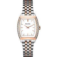 orologio solo tempo donna Bulova Diamond Gallery 98R200