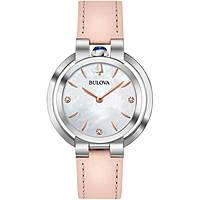 orologio solo tempo donna Bulova Diamonds 96P197