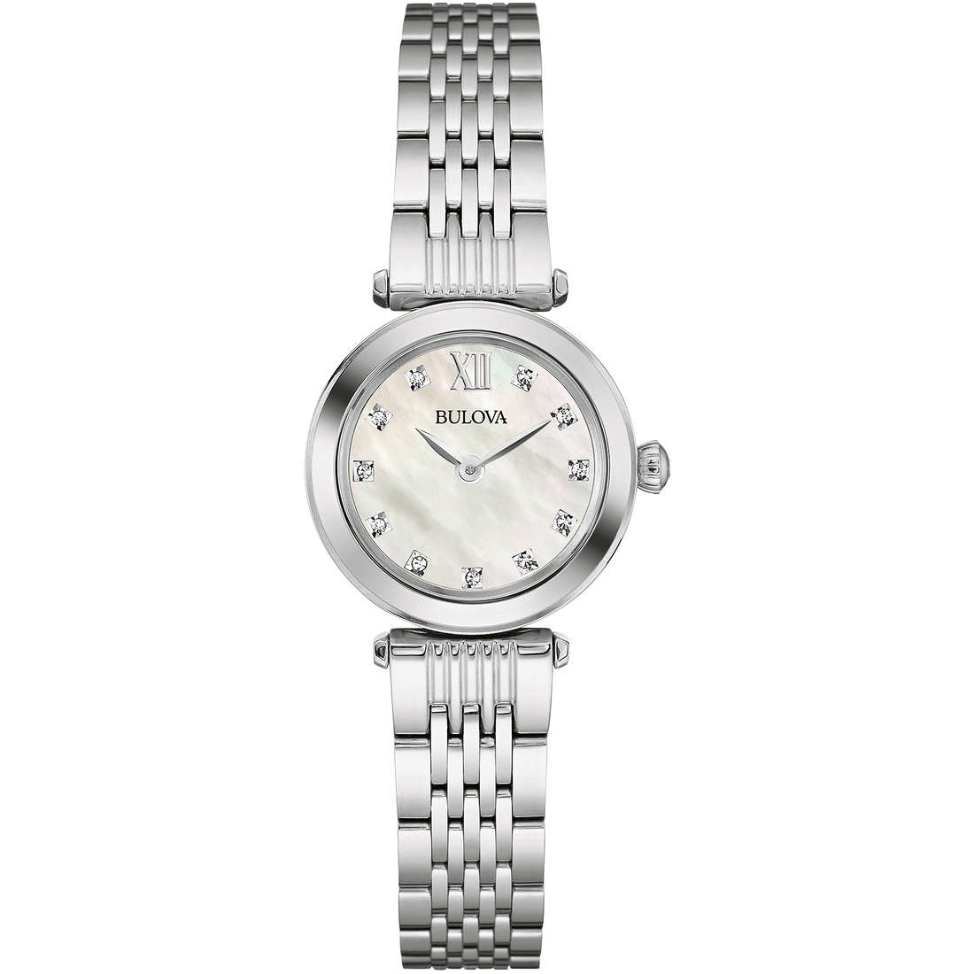 orologio solo tempo donna Bulova Diamonds 96S167