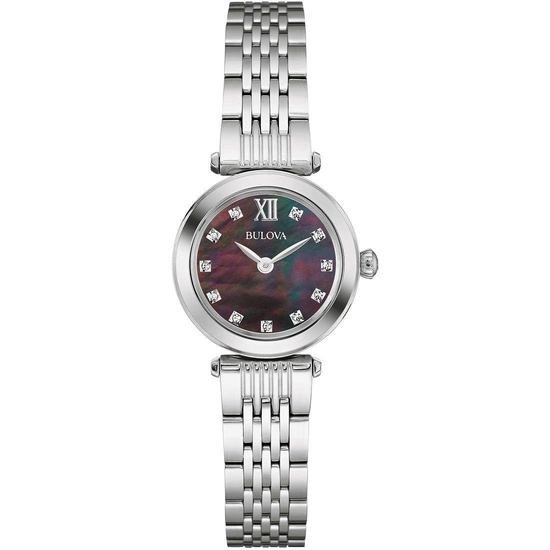 orologio solo tempo donna Bulova Diamonds 96S169