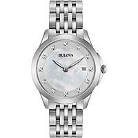 orologio solo tempo donna Bulova Diamonds 96S174